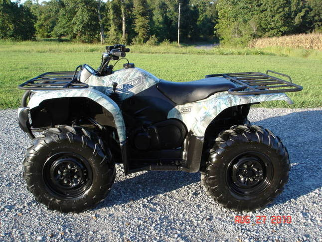 2007 yamaha grizzly 450 home